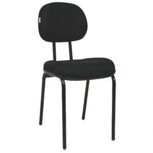 Cadeira Secretária Fixa Gomada 4 Pés