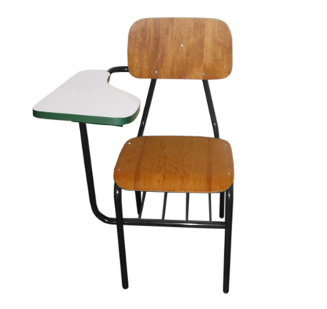 Cadeira Universitária em verniz