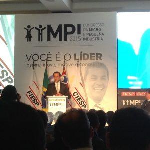 Presidente Paulo Skaf do FIESP e CIESP